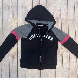Hollister Zip Up Hoodie Size Large Sweatshirt